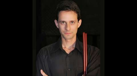Claudio Reis, drum tutor in Sydney