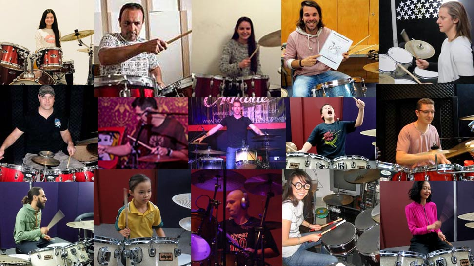 Students at Drum Lessons Sydney